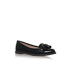 Carvela - Black maggie 2 flat slip on loafers