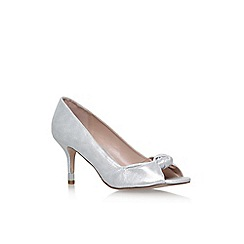 Miss KG - Silver 'Carrie' high heel sandals