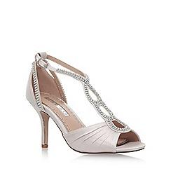 Miss KG - Metallic 'PENELOPE' high heel sandals