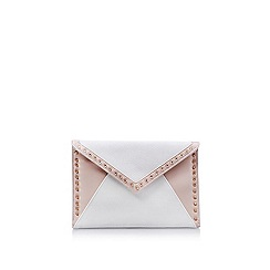 Carvela - Cream 'Deana' clutch bag
