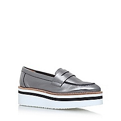 Carvela - Grey Laugh flat loafers