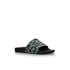 KG Kurt Geiger - Green 'Waikato' flat sandals