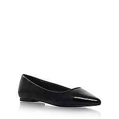Carvela - Black 'Mouse' flat slip on pumps