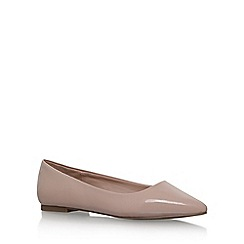 Carvela - Natural 'Mouse' flat slip on pumps
