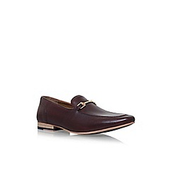 KG Kurt Geiger - Red lancing flat slip on loafers