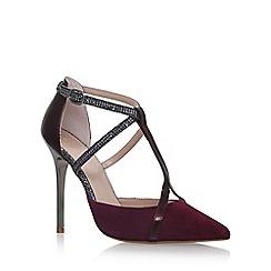 KG Kurt Geiger - Red 'Bethy' high heel sandals