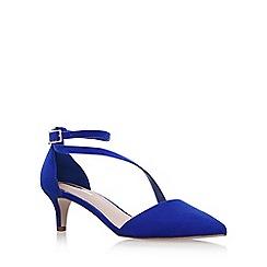Miss KG - Blue 'Archer' mid heel sandals
