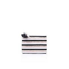 Miss KG - Grey 'Hunt' purse