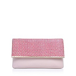 Miss KG - Pink 'Haeleigh' clutch bag