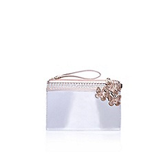 Miss KG - Grey 'Heather' clutch bag