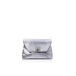 Carvela - Silver 'Goa' clutch clutch bag