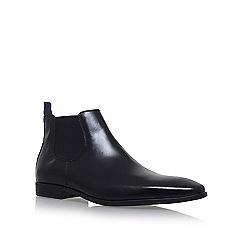 KG Kurt Geiger - Black 'Waldock' flat chelsea boots