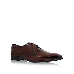 KG Kurt Geiger - Brown 'Kenneth' flat lace up shoes