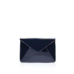 Carvela - Blue 'Drew' clutch bag