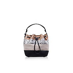 Nine West - Brown 'Adali Bucket' sm handbag with shoulder straps