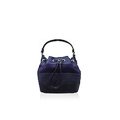 Nine West - Blue 'Adali Bucket SM' handbag with shoulder straps