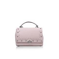 Nine West - Pink 'Bashira Satchel SM' handbag with shoulder straps