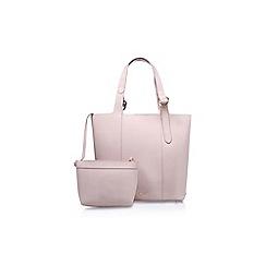 Nine West - Pink 'Belecia Tote LG' handbag with shoulder straps
