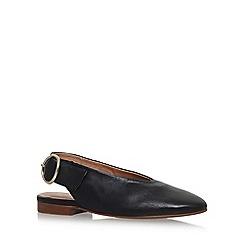 Carvela - Black Luna flat sandals