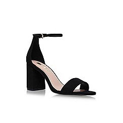 Miss KG - Black 'Gazette' high heel sandals