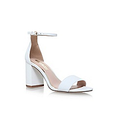 Miss KG - White 'Gazette' high heel sandals
