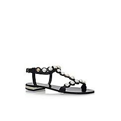 Carvela - Black 'Kando' flat sandals