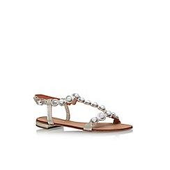 Carvela - Gold 'Kando' flat sandals