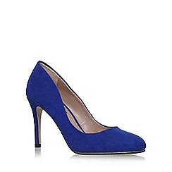 Miss KG - Blue 'Cole' high heel court shoes