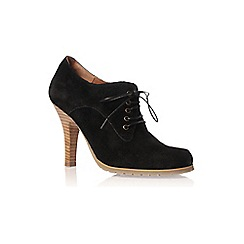Vince Camuto - Black 'Franine' high heel lace up shoes