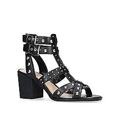 Vince Camuto - Black 'Luchia' mid heel sandals