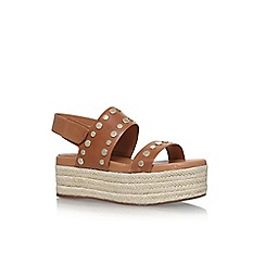 Vince Camuto - Brown 'Raetin' flat sandals