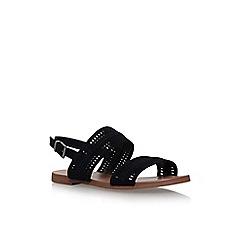 Vince Camuto - Black richelle flat sandals