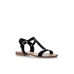Nine West - Black 'Felix' flat sandals