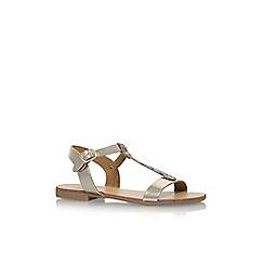 Nine West - Gold 'Felix' flat sandals