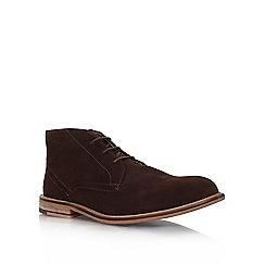KG Kurt Geiger - Brown 'Hayle' flat desert boots