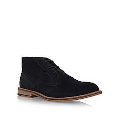 KG Kurt Geiger - Blue 'Hayle' flat desert boots