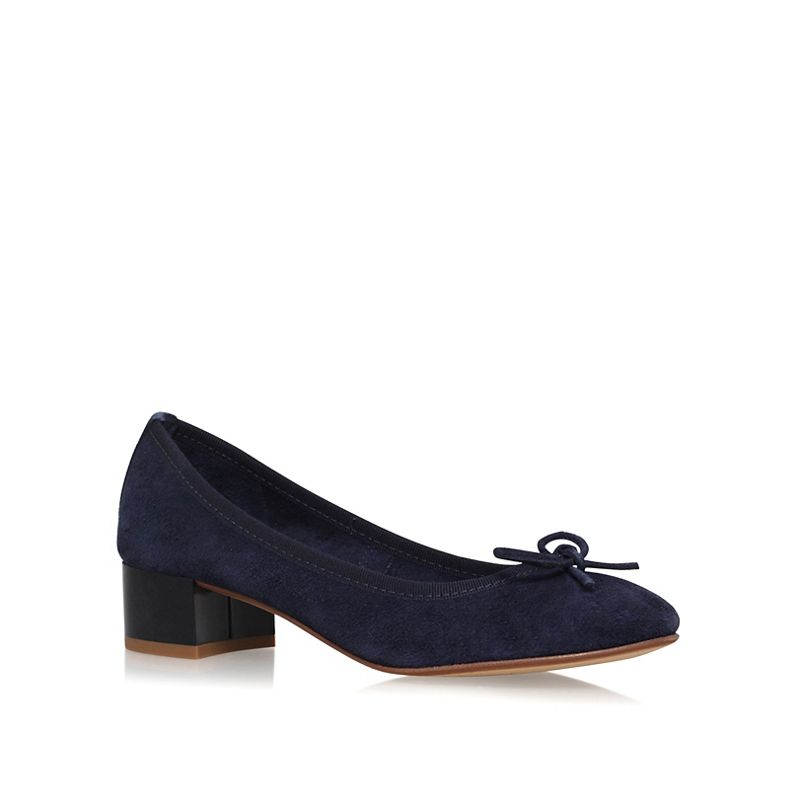 Nine West Blue Saray mid heel court shoes