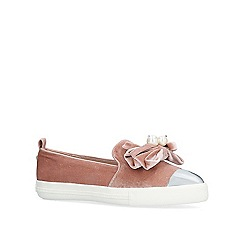Miss KG - Pink 'Lottie' slip on trainers