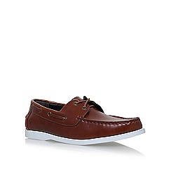 KG Kurt Geiger - Brown 'Dan' boat shoes