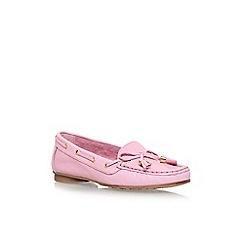 Nine West - Pink 'Jerry' flat slip on loafers