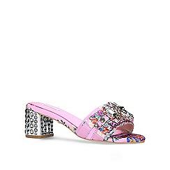 Carvela - Pink 'Kascade' mid heel sandals