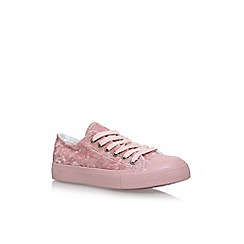 Nine West - Pink 'Bryony' flat lace up sneakers
