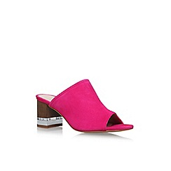 KG Kurt Geiger - Pink 'Hector' high heel sandals