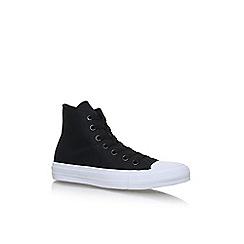 Converse - Black 'Ctas II' Hi Flat lace up sneakers