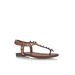 Carvela - Brown 'Kankan' flat sandals