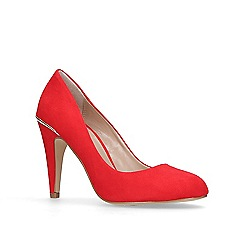 Carvela - Red 'Kendra' high heel court shoes