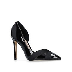 Carvela - Black 'Lark' high heel court shoes