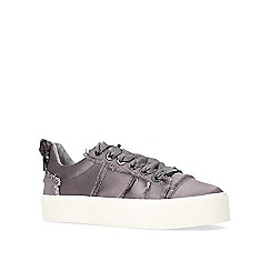 Carvela - Pewter 'Latimer' low top trainers