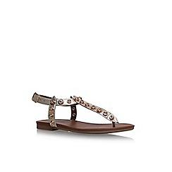Carvela - Gold 'Kave' flat sandals