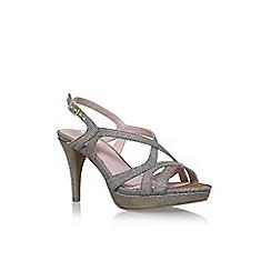 Solea - Metal 'Andrea' high heel sandals
